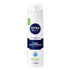 NIVEA For Men Sensitive гель для бритья