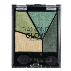 MAYBELLINE Eyestudio Diamond Glow тени компактные