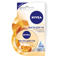 NIVEA Lip Care масло для губ крем-карамель