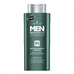 SCHWARZKOPF Men Deep Effect 3 шампунь