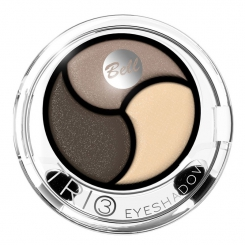BELL COSMETICS Bell Trio Eyeshadow тени компактные