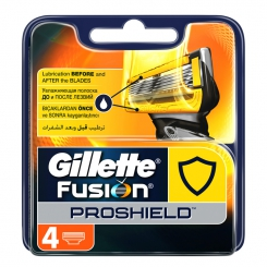 GILLETTE Fusion Proshield кассеты