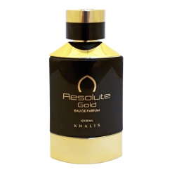 KHALIS French Collection Resolute Gold Pour Homme