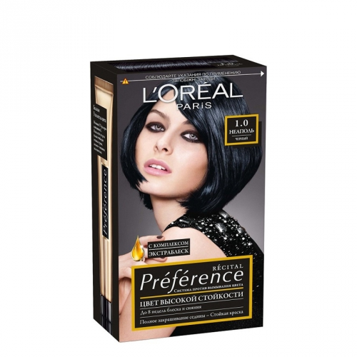 инструкция для краски loreal recital preference